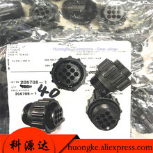 4 шт./лот 9-цилиндрический штепсельный разъем 206708-1 в наличии