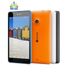 Original Unlocked Lumia 535 Quad-core 5″ screen single/Dual sim 1GB+8GB Dual 5MP camera Refurbished Windows phone