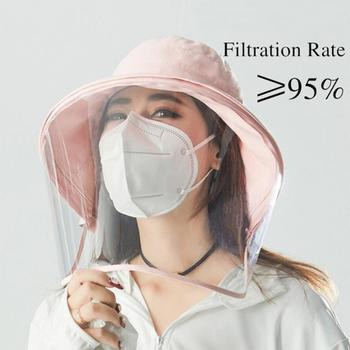 1/10pcs N95 Mouth Masks 6 Layers Respirator Anti PM2.5 Protective Mask Bacteria Proof Anti Infection Particulate FFP2 3 CE/FDA 2