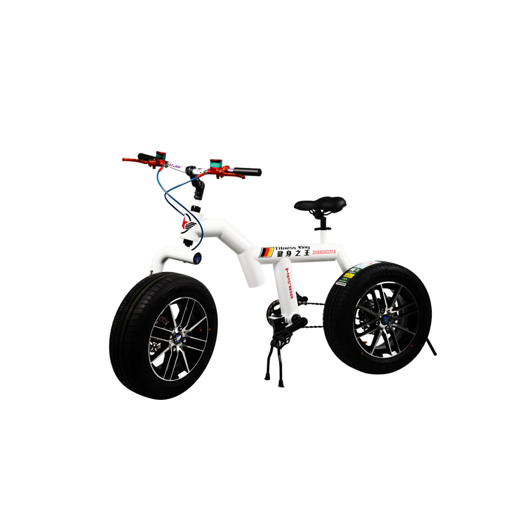 mountain bike double disc brakes bicycle folding bicycle alloy frame big tire snow bike For man and women free shipping