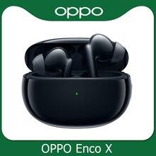 Беспроводные наушники Oppo Enco X Ture, TWS, 3 микрофона, шумоподавление, Bluetooth 5,2, наушники вкладыши для Reno 5 Pro 4 SE Find X2 Pro