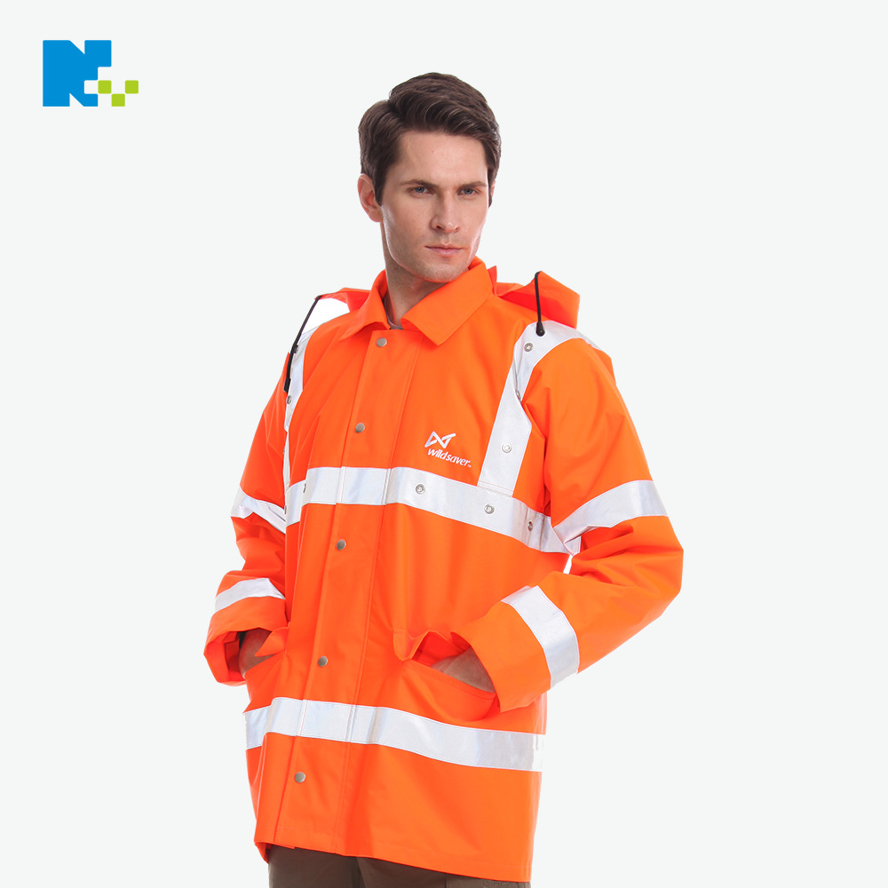 Direct Supply LED Reflective Vest LED Sanitation Work Clothes Workwear Road Safe Shining Clothing Waterproof Reflective Back