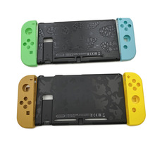 Limited Groen Geel Plastic Back Case Cover Rear Panel Frame Voor Nintendo Switch Console & Vreugde Behuizing Case