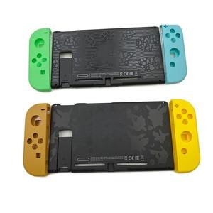 Image 1 - Limited Groen Geel Plastic Back Case Cover Rear Panel Frame Voor Nintendo Switch Console & Vreugde Behuizing Case