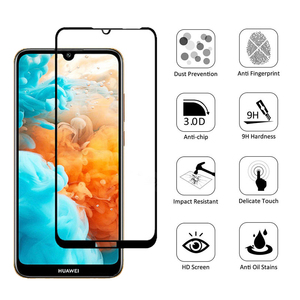 Чехол для huawei y5 y6 y7 pro y9 prime 2019, защитный чехол из закаленного стекла на экран для y 5 6 7 9 5y 6y 7y 9y, защитный чехол для телефона