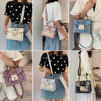 Women Fashion PU Leather Shoulder Small Flap Crossbody Handbags Top Handle Messenger Bags High Quality Luxury Ladies Hand Bag fashion lingge chains crossbody bags for women designer handbags luxury pu leather shoulder messenger bag lady small flap 2020
