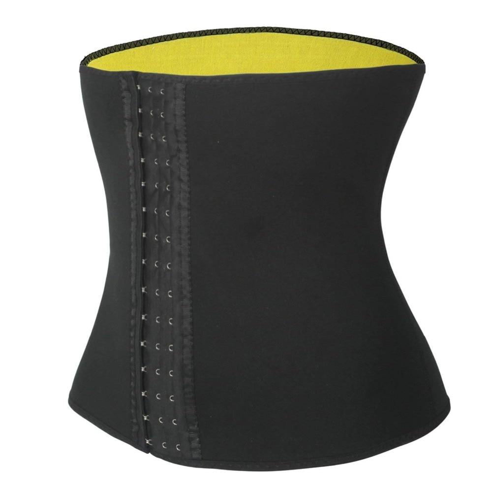 CXZD Women's Hot Thermo Sweat Neoprene Body Shaper Waist Trainer Cincher Corset Tummy Control Shaping Belt Shapewear Slimming Girdle (5)