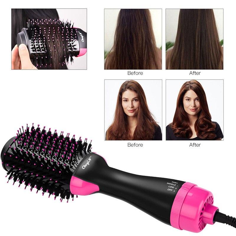 cabelo pente rolo elétrico salão de beleza