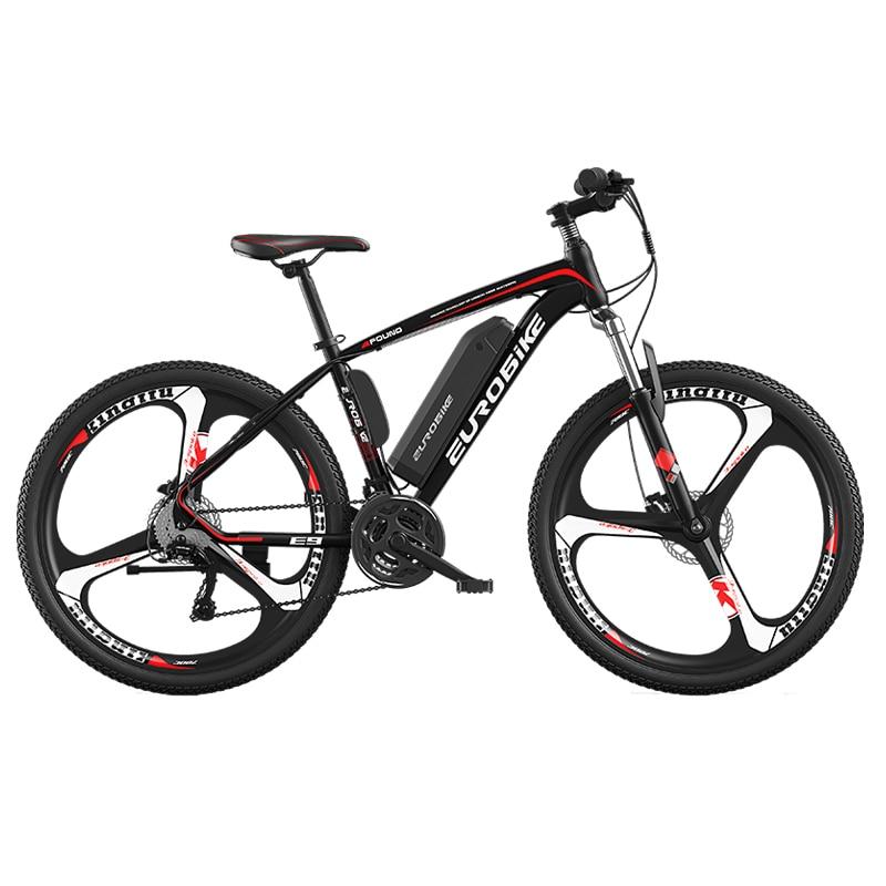 27-скоростной Электрический велосипед из алюминиевого сплава, электрический велосипед для взрослых, 3 ножа, 26 дюймов, двойной дисковый тормо...