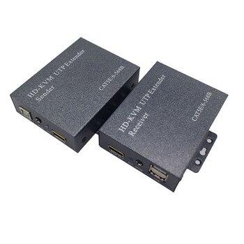 HDMI à Cat5 | Extension Hdmi Sur Ip/Tcp Utp/Stp Cat5/5E/6 Réseau Lan Rj45 60Hz 1080P 100M Extension Récepteur Séparateur Hdmi