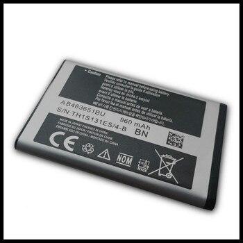 AB463651BU Battery For Samsung S5610 W559 S5620 S5630C C3200 F339 S5296 C3322 C3530 AB463651BE