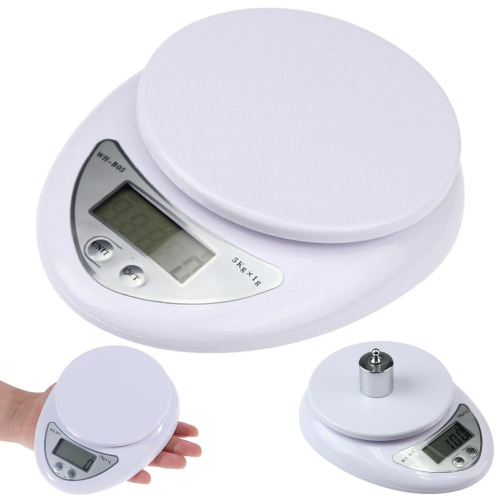5kg/1g Precise Kitchen Digital LED Electronic Scale Kitchen Restaurant Food Weight Measuring Tool