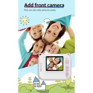 Image 4 - RISE DIY Digital Instant Print Camera Full Color Prints Kind Camera Voor Kinderen Baby Geschenken Roze