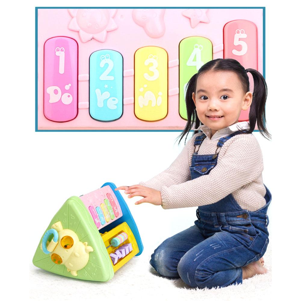Do bebê do Divertimento Musical Eletrônico Casa Multifuncional Musical Brinquedos de Aprendizagem Educacionais Presentes Brinquedos Para Crianças