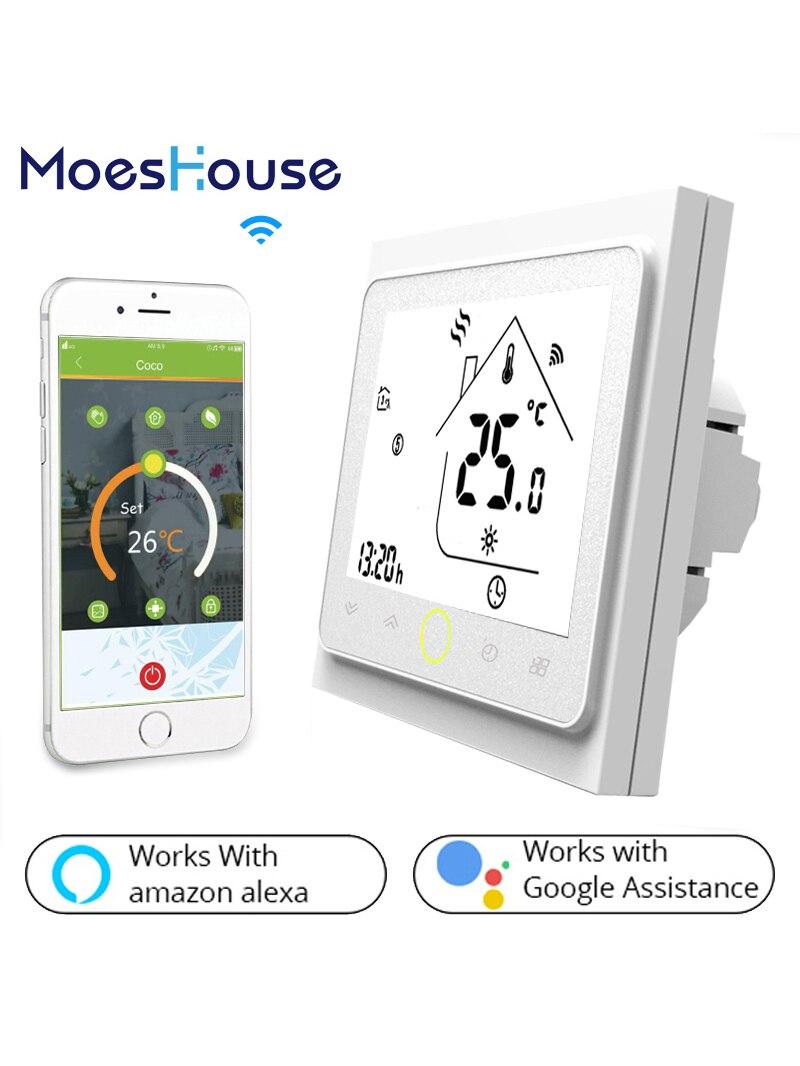 Temperature-Controller Smart Thermostat Wifi Alexa Floor-Heating-Water/gas-Boiler Google