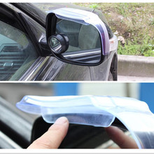 цена на 1PC Car Universal Rain Shield Car Rearview Mirror Rain Eyebrow Visor Shade Shield With Air Inlet Thickened Automotive Rain Cover