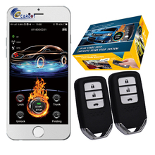 Cardot Gsm 2G Gps Goedkope Pke Remote Engine Starter Start Stop Keyless Entry Smart Auto Alarm