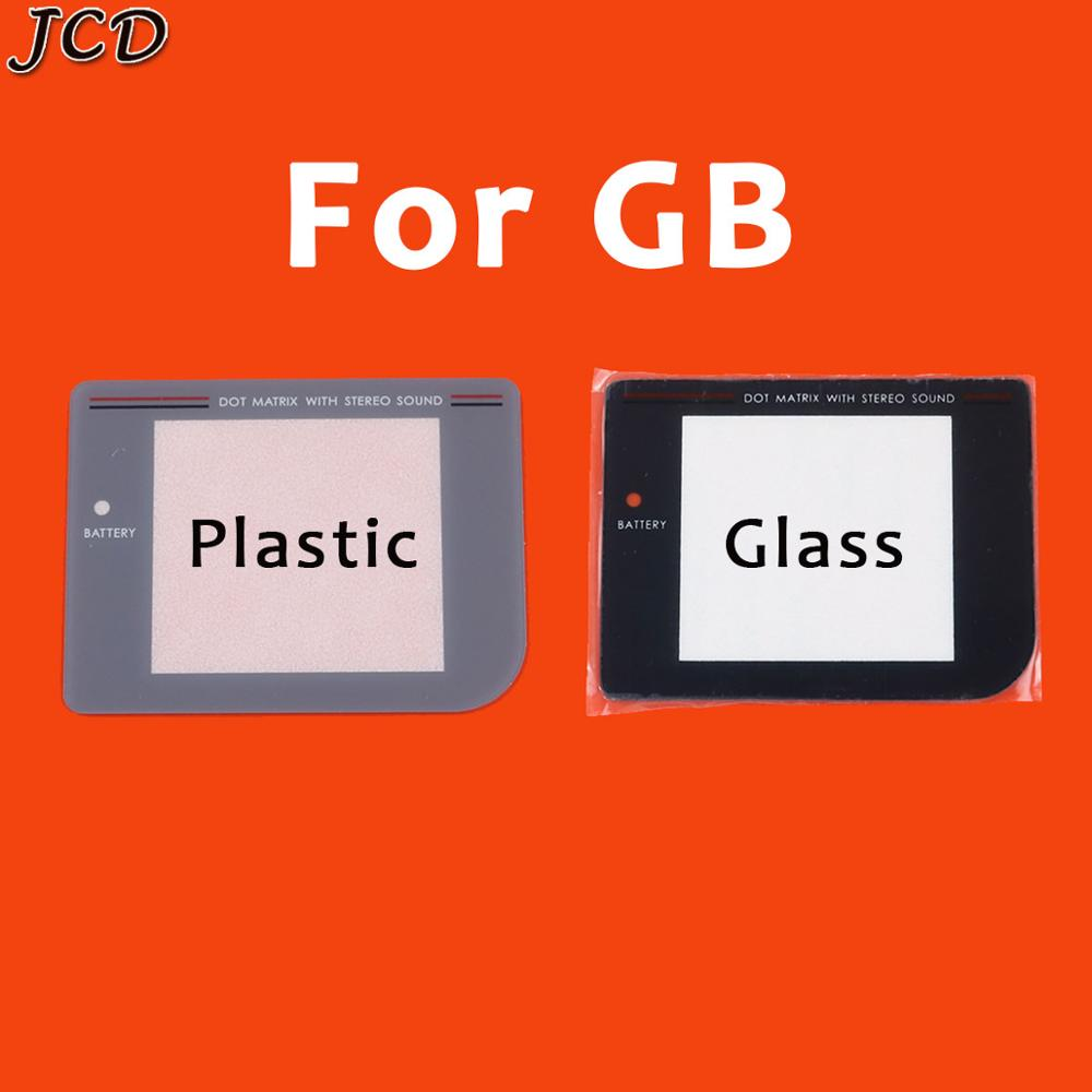 JCD Plastic Glass Lens for GB/GBA/GBC/GBP/GBA SP/GBL Screen Glass Lens for Gameboy Color Lens Protector W/ Adhensiveparts