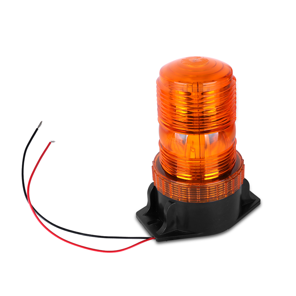 Bogrand Dome 30 LED 12-24V Construction Vehicle Car Warning Strobe Light Beacon Amber School Bus Emergency Flashing Lights
