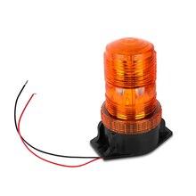 Bogrand Dome 30 LED 12 24V Xe Xây Dựng Cảnh Báo Ô Tô Ánh Sáng Nhấp Nháy Đèn Hiệu Hổ Phách Xe Buýt Trường Học Khẩn Cấp Nhấp Nháy đèn