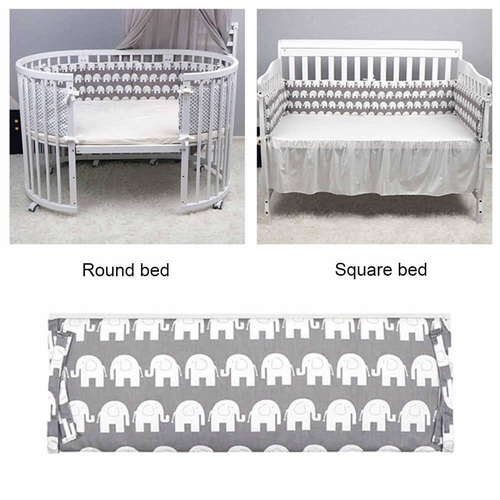 Kids Cot Protector Hek Gevulde Pop Pasgeboren Baby Comfortabel Slapen Accessoires Home Decor Bed Bumper Zachte Kussen Kussens
