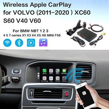 Wireless Apple Carplay Volvo Android Auto  Interface Decoder For Volvo  (2015-2019)XC60 S60 V40 V60  Volvo Carplay