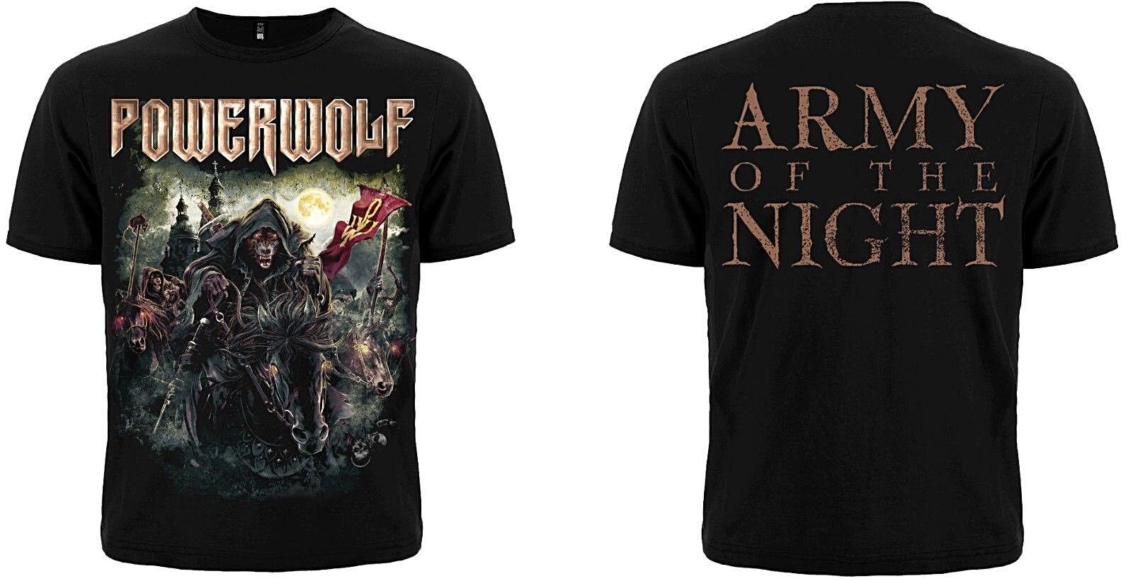 Powerwolf The Metal Mass T Shirt Printed T Shirt Men'S Short Sleeve O Neck T Shirts Summer Stree Twear Top Tee Plus Size