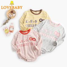 2019 New Autumn Newborn Infant Body  Baby Girl Boy Ribbed Bodysuit One-Pieces Cotton Solid Jumpsuit Long Sleeve Clothes