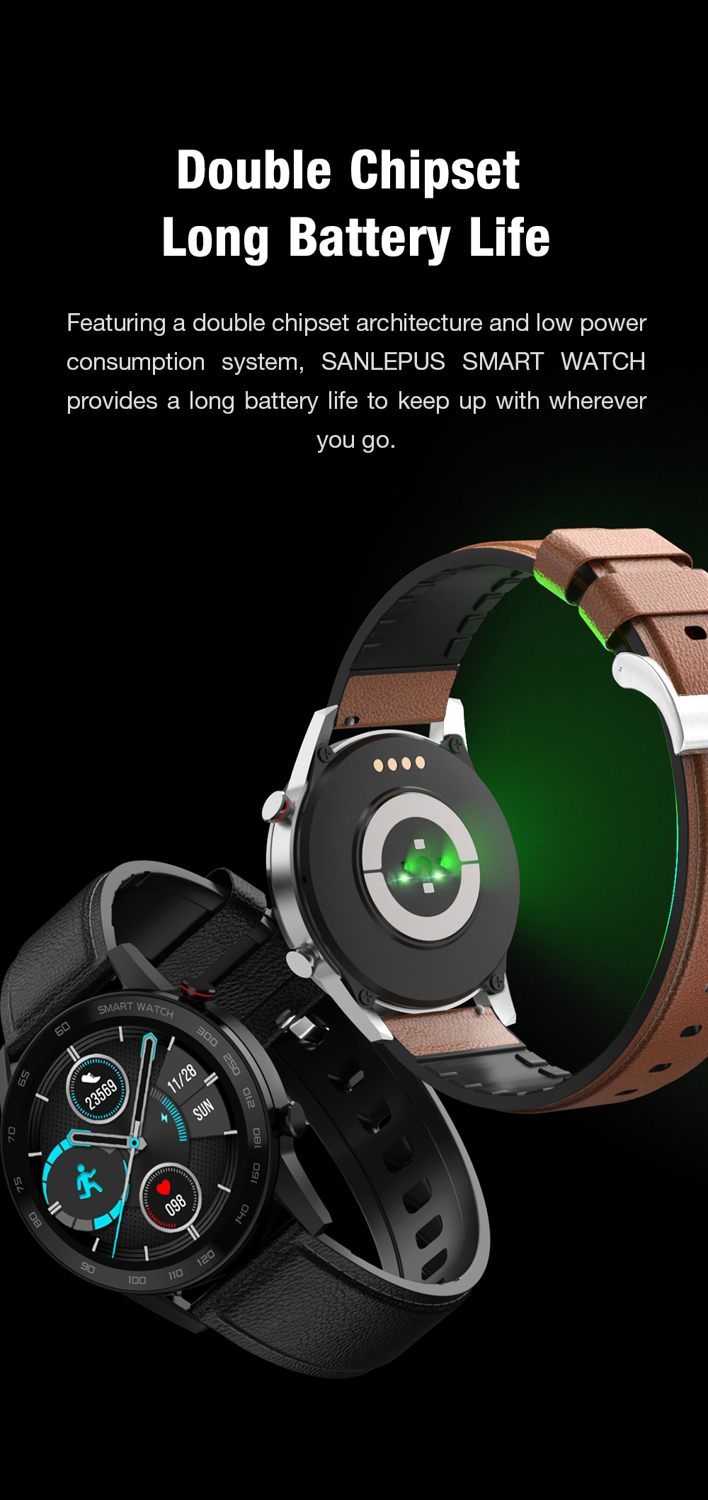 H09fc8a73998e4689b7431f0e29bed562E 2021 SANLEPUS ECG Smart Watch Dial Call Smartwatch Men Sport Fitness Bracelet Clock Watches For Android Apple Xiaomi