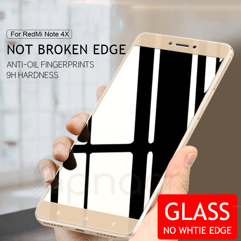 Image 2 - 9D Protective Glass For Xiaomi Redmi Note 4 4X 5 5A Pro Screen Protector For Redmi 5 Plus S2 4X 5A Tempered Glass Film Case-in Phone Screen Protectors from Cellphones & Telecommunications