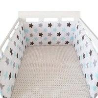 200cm 길이 (1pcs 범퍼 전용) 유행 뜨거운 어린이 침대 범퍼 유아 침대  아기 침대 범퍼 clauds/star/dot  아기 사용을위한 안전한 보호