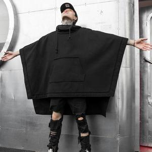 Image 5 - Pull à capuche punk, style gothique, vintage, streetwear, style punk, hip hop, style noir, collection sweatshirt à capuche long, automne hiver