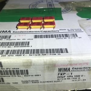 Image 3 - 30PCS German original boxes WIMA FKP 1 220PF 1600V film capacitor coupling the audio free shipping