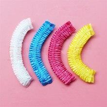 20 шт одноразовая шляпа для отеля, одноразовая эластичная шапочка для душа, для ванной комнаты, Товары для ванной комнаты, горячая распродажа