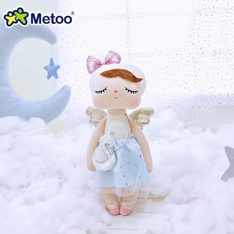 Ban Đầu Metoo Búp Bê Đồ Chơi Nhồi Bông Cho Bé Gái Bé Thiên Nga Xinh Đẹp Thiên Thần Angela, Chất Liệu Mềm Mại, Động Vật Cho Trẻ Em Trẻ Sơ Sinh Mới Nhất