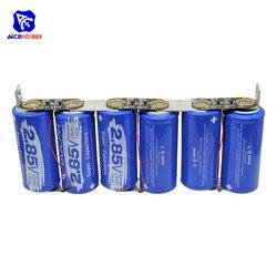 Diymore Super Farad Condensator 6 stks/set 17V 566F Super Condensator met Bescherming Boord Enkele Rij 2.85V 3400F Capaciteit voor Auto