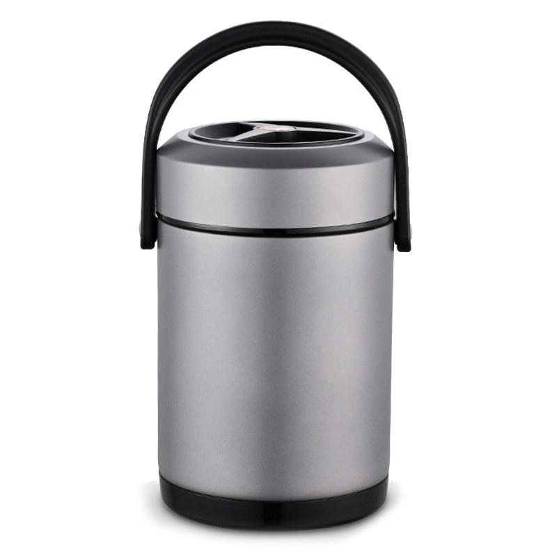 Meilleure boîte à Bento de boîte à déjeuner d'acier inoxydable avec le chauffage pour le récipient chauffé de boîte à déjeuner de nourriture pour la préparation de repas de nourriture