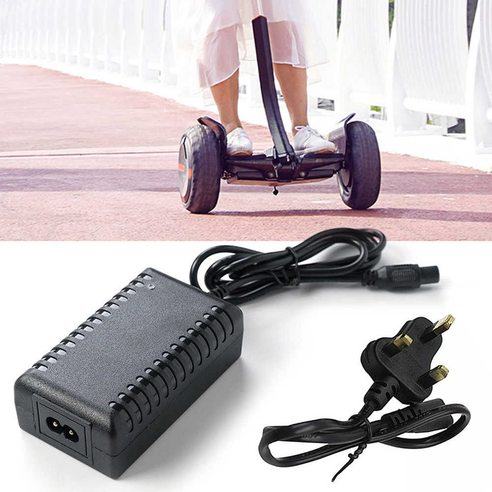 U/US/UK ปลั๊ก 42V 2A สำหรับ Hoverboard Skateboard แบตเตอรี่ Power Supply ADAPTER Self Balancing scooter Charger