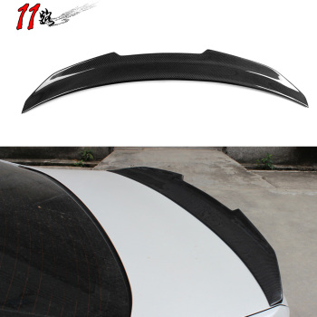 Real Carbon Fiber HighKick Car Trunk Rear Racing Spoiler Wing Lid For 3 Series E92 Coupe 2006-2013 Forged Carbon Spoilers carbon fiber mercedes benz 2011 2013 w204 c class coupe rear wing trunk spoiler