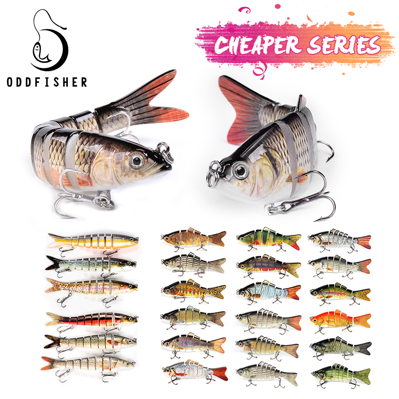 Fishing Lures For Dropshipping Multi Jointed Swimbait 8 6 Segement Wobblers Pike Tackle for Bass Trout Crankbait Lures(China)