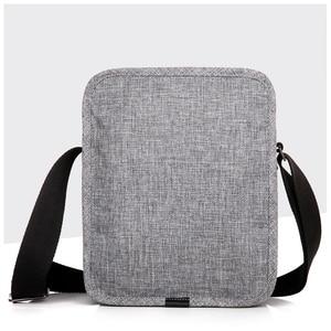 Image 5 - CAI sac à bandoulière multi poches pour tablette, Mini décontracté sacs décole pour adolescents garçons, sacs à main Fashion