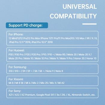 Зарядное устройство KUULAA 20 Вт Quick Charge 3,0 3