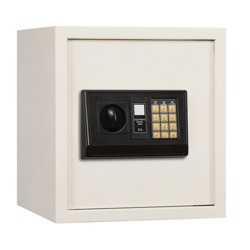 Ann Lock For Home & Office Use 40CM Electronic Password Safe Box Small All-Steel Wall Safety Box Small Safe-Deposit Box