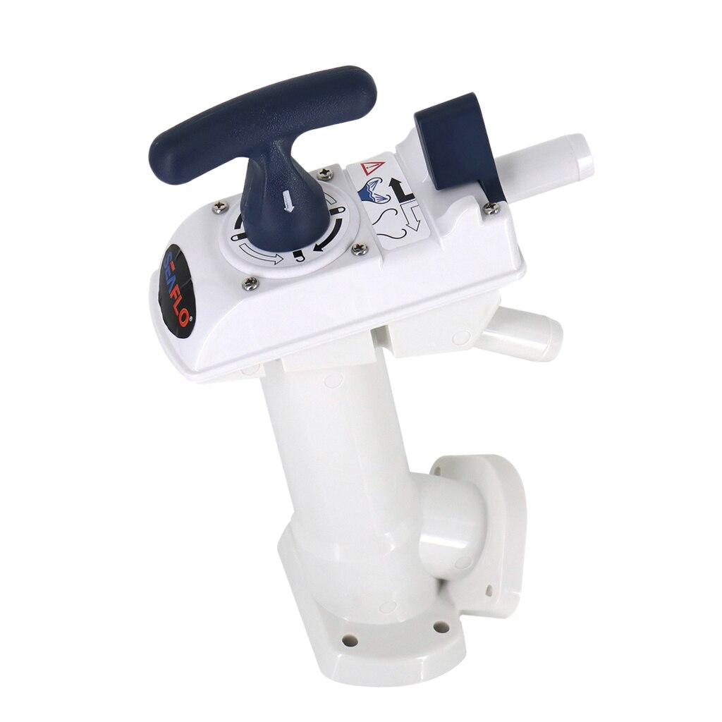 Manual Toilet Pump For Caravan Or Boat Toilet Plunger Pump For Bathroom
