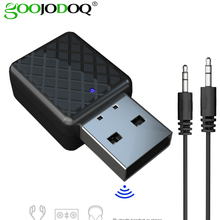 Для 3,5 мм Aux адаптер для домашней стереосистемы наушники для автомобиля MP3 PC tv 2 в 1 Bluetooth 5,0 аудио передатчик приемник адаптер