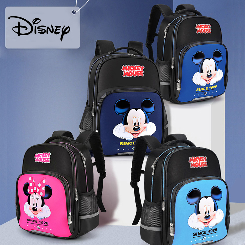 Disney Kids Backpack For Boys Girls Backpack For School With Reflective Stripe Cute Cartoon Backpack For Kids Frozen Sequins