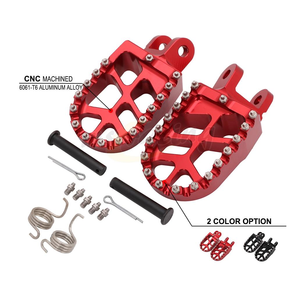 CNC Motorbike Foot Pegs Motorcycle Footpeg For HONDA CR80 XR250 XR400 XR350R XR600R XR650L XR650R  CR 85 XR 250 450 350R 600R