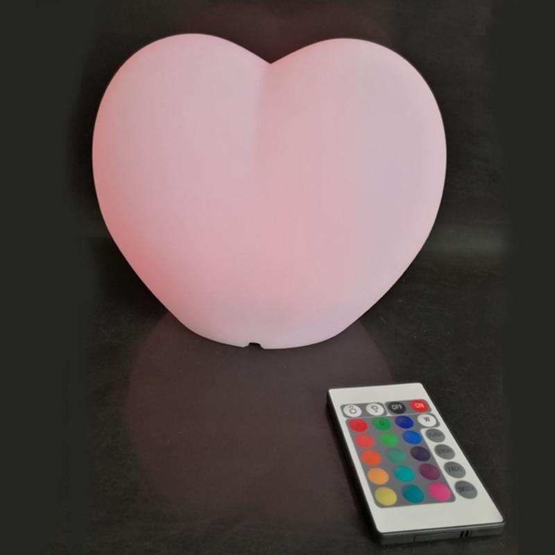 Romantični svjetlosni oblik srca LED baterija za napajanje od RGBW - Unutarnja rasvjeta - Foto 5