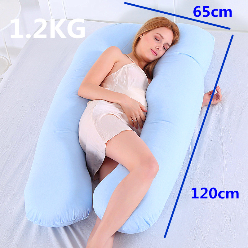 Pregnancy Pillow Support Pillow For Pregnant Women Body Cotton Pillowcase U Shape Maternity Pillows Pregnancy Side Sleepers