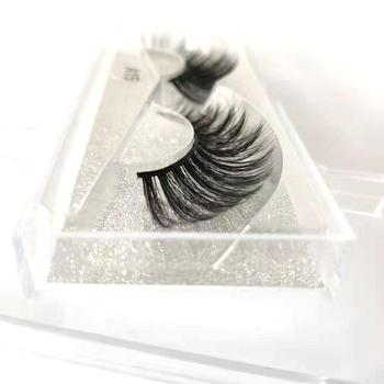 3D Multi-layered Faux Mink Eyelashes Fluffy Volume Lashes Natural Look 3D Layered Effect Reusable 100% Handmade Cruelty-Free image
